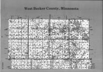 Index Map 1, Becker County 1992 Published by Farm and Home Publishers, LTD